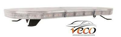 Led Dual Voltage Flashing Spot Light Bar 760Mm Recovery Truck Van Offroad Amb620