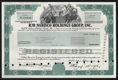 1990 USA: RJR Nabisco Holdings Group, Inc. - issued to Bear Stearns