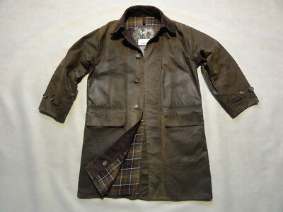 Barbour - A850 Classic 3/4 Coat - Size Small - Wax