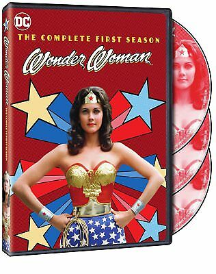 Wonder Woman - The Complete First Season (DVD, 2017, 3-Disc Set)