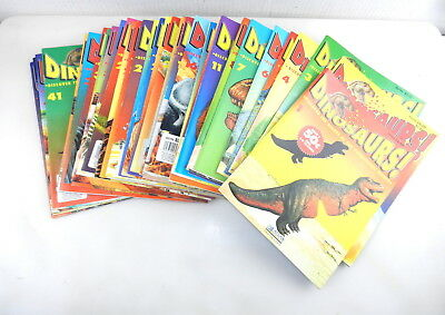 1993 Atlas Editions DINOSAURS! Giants Prehistoric World Lot of 42 MAGAZINES  T26