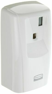 "Rubbermaid Commercial FG401115 Pump Odor Control LCD Dispenser, White, 4.88"" x"