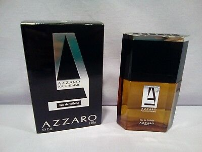 Azzaro Pour Homme Man Uomo Eau De Toilette Splash 75 Ml. Old Formula Very Rare