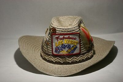 ae07c9b079c76 Rare Vintage Cowboy Journey Straw Hat With Patch And Pins