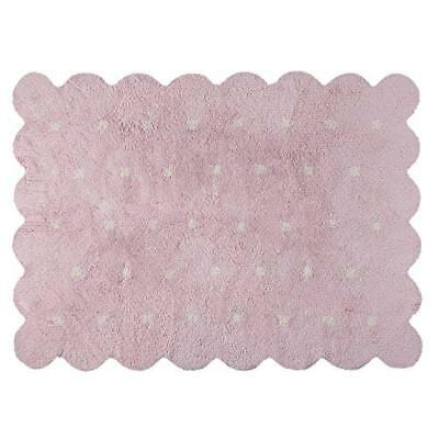 Lorena Canals C-77771-18 Galleta Reversible Pink – Beige Washable Rug, Rosa -