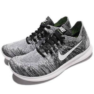 size 40 715ab 060d6 NIKE FREE RN FLYKNIT 2017 Women's Running shoes NEW MSRP $120 880844 003  Black