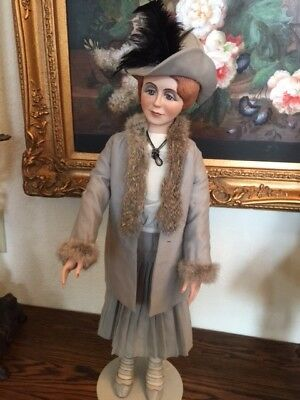 "Porcelain doll ""GRETA RAND"", Faith Wick, Wicket Originals, 1/100 1987"