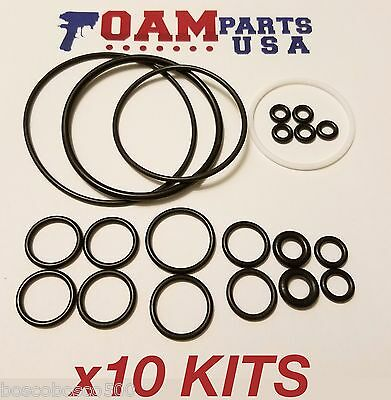 10 Kits 246355 Aftermarket Viton O-Ring Rebuild Kit for Graco Fusion AP orings