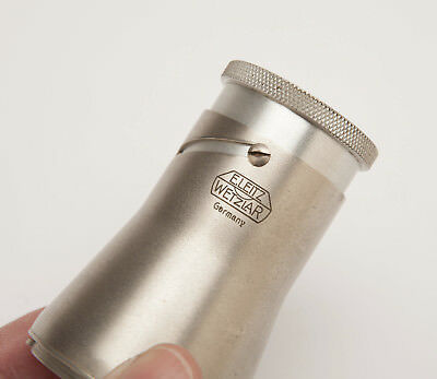 LEICA Leitz Wetzlar VISOFLEX Magnifying View Finder - Early Nickel Version