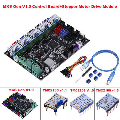 MKS Gen 3D Printer Control Board+5x TMC 2130/2208/2100 Stepper Motor Driver Lot