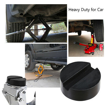 Car Vehicles Slotted Frame Hydraulic Floor Jack Rubber Pad Kit Black Rubber