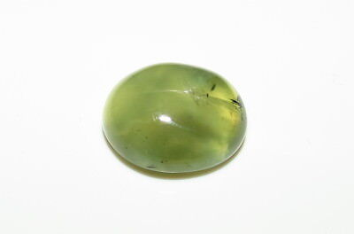 19x16mm NATURAL GEM PREHNITE polished OVAL CUT CABOCHON GEMSTONE