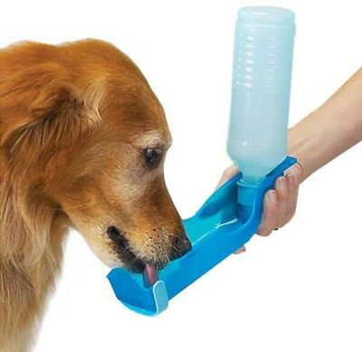 Pet Dog Cat Outdoor Travel Water Bowl Portable Bottle Feeder Drinking Fountain