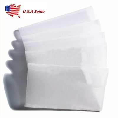 US Squish Bags - Rosin Screen Tea Bags - 90 micron (2.5'' x 4.5'') - 50 pack