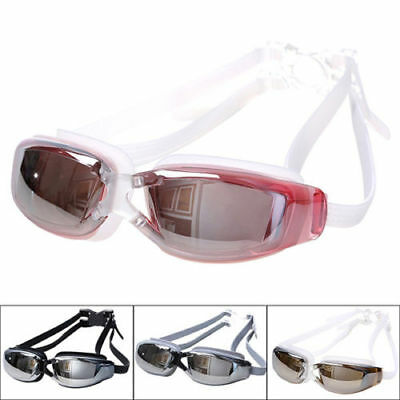 Adults Waterproof Anti-Fog UV Protect Swim Swimming Goggles Adjustable Glasses K