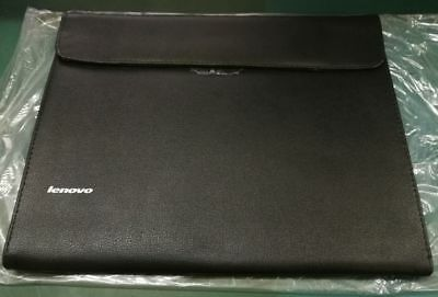 c3e5ef0939  NEW  Genuine Leather Carry Laptop Sleeve Bag Case for 13