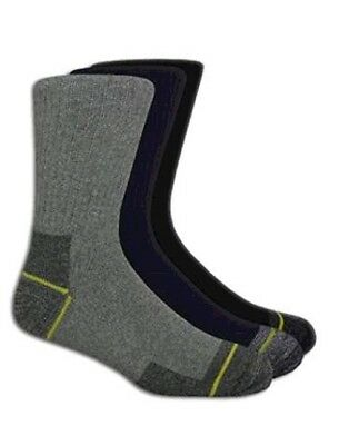 WORK SOCKS Mens Boots Work Performance Comfortable Wearing Heavy Duty Pack of 3