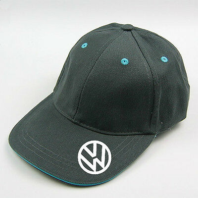 WHOLESALE 20 grey  vw baseball cap with blue trim