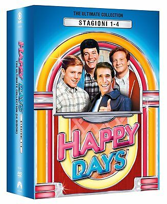 Happy Days - Stagioni Da 1 A 4 (14 Dvd) Cofanetto Unico, Nuovo, Italiano