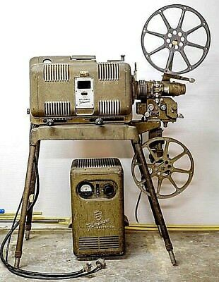 Bell & Howell 140 Filmo Carbon Arc 16mm Sound Projector