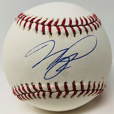 Mike Piazza Signed Baseball New York Mets Los Angeles Dodgers - MLB PSA/DNA
