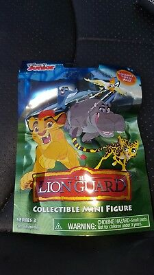 NEW Unopened Disney Jr The Lion Guard Collectible Mini Figure Blind Bag Series 3