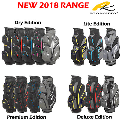 Powakaddy Golf Bag Powakaddy Cart Bag 2018 Golf Bags **new Range** All Versions