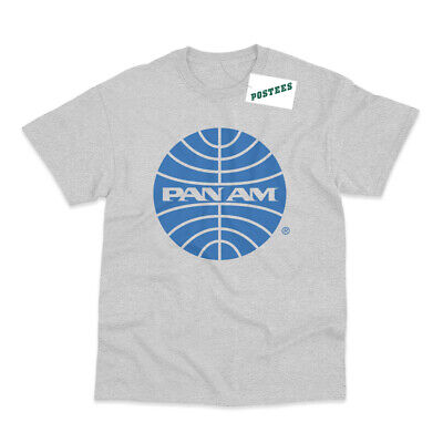 PAN AM Airlines Inspired by Catch Me If You Can Printed T-Shirt