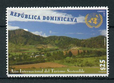 Dominican Republic 2017 MNH UN Intl Year of Sustainable Tourism 1v Set Stamps