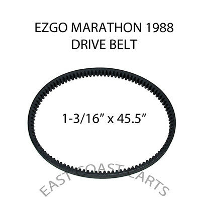 EZGO Marathon 1988 Golf Cart Primary Drive Clutch DRIVE BELT 23557-G1