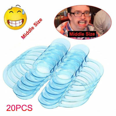 20Pcs C-Shape Dental Teeth Whitening Cheek Retractor Lip Mouth Opener Expander