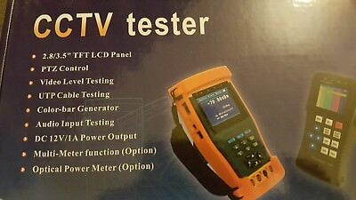 CCTV Tester HD 4 in 1 HD-TVI,AHD,ANALOG,PTZ, CCTV Test monitor