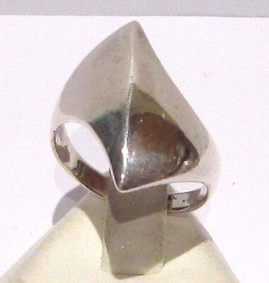 Vintage Excellent Early 20Th Century Silver Ring  # 783