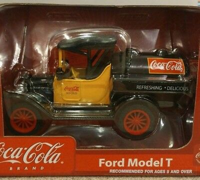 Coca Cola Gearbox Ford Model T Tanker 1:26 Scale Diecast Coin Bank NIB