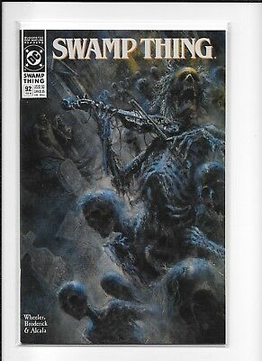 Swamp Thing #92 Decent (8.0) Dc