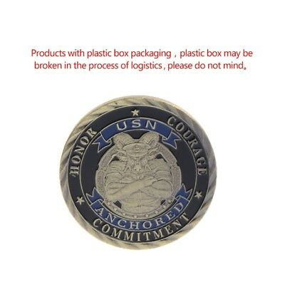 Crafts USA Marine United States Navy Commemorative Coin Collection Souvenir Gift