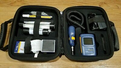 Fluke Networks FT500 FiberInspector Mini Fiber Scope | Video Microscope & Swabs