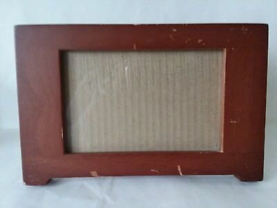 2 Picture Frames Fetco Solid Brass 3 12 X 5 Photo Frame New