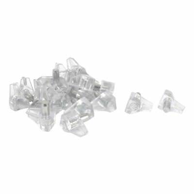 5 mm Pin shelf support shelf studs strong support 20 pcs, Transparent J1Y7
