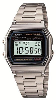 Casio Standard Digital A158WA-1JF / Water Resist / 100% Authentic!!