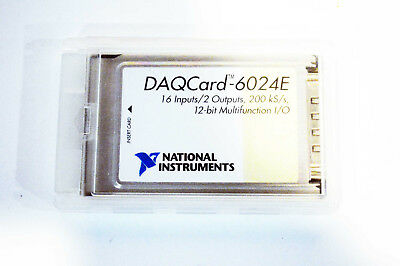 National Instruments NI DAQCard-6024E NI DAQ Card PCMCIA Analog Input Multi