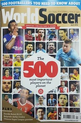 WORLD SOCCER SPECIAL COLLECTORS EDITION - April 2018 issue (NEW)