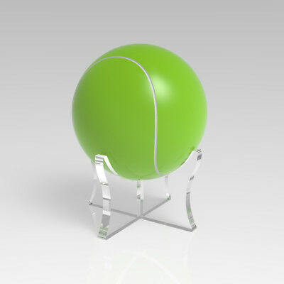 Acrylic Tennis Ball Display Stand / Riser Plinth / Signed Autographed Holder