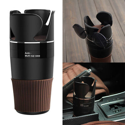 Auto Multi Cup Case Organizer Phone Holder Car Drink Bottle Gadget Storage