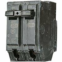 General Electric Thql2150 Circuit Breaker, 2-Pole 50-Amp Thick Series
