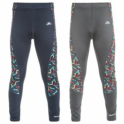 Trespass Graceful Girls Leggings Navy Reflective Sport Pants For Gymnastics