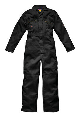 Dickies Coverall / Overall Redhawk Overall mit Reißverschluss-Front Black