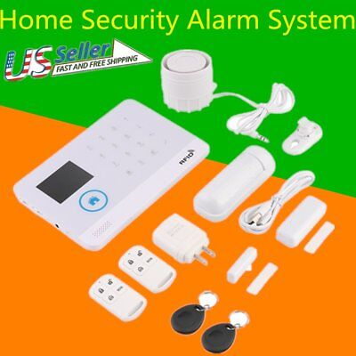 House Alarm Systems Wireless GSM Wi-Fi Home Security Infrared Motion Sensor WX