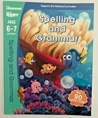 Dinsey Learning Finding Dory Practice workbook Spelling & Grammar (Ages 6-7)