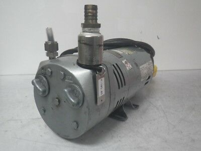 G582DX 0523-1010-582DX Emerson Gast Vacuum Pump 100-115v 1725rpm (Used & Tested)
